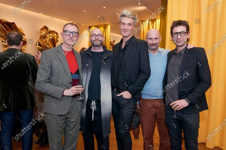 Stock Image of Gareth Williams, Richard Surgery Patrick Fredrikson, Scott Maddox and Ian Stallard