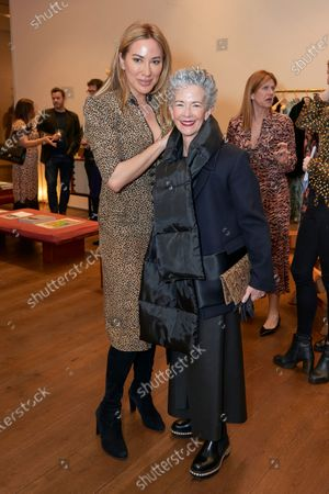 Editorial picture of Alexandra Meyers hosts an 'In Conversation' with Nazy Vassegh and guest artists Fredrikson Stallard at the SALONI pop-up store on London's Sloane Street for friends of the brand, UK - 04 Feb 2020