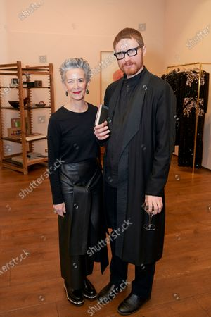Stock Photo of Catherine Walsh and guest