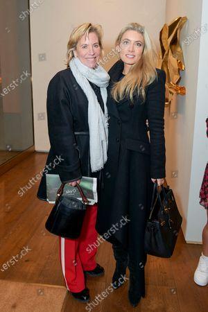 Bettina Bonnefoy and Lucinda Edwards