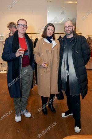 Gareth Williams, Sarah Douglas and Richard Sorger