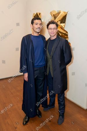 Tarek Shamma and James Lindon