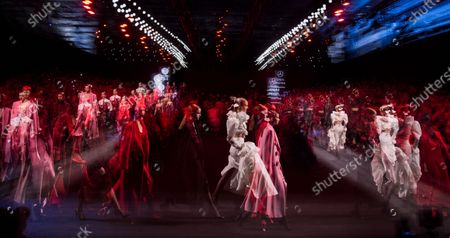 Editorial picture of Juan Vidal show, Runway, Autumn Winter 2020, Mercedes-Benz Fashion Week, Madrid, Spain - 01 Feb 2020