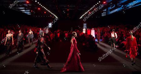 Editorial image of Juan Vidal show, Runway, Autumn Winter 2020, Mercedes-Benz Fashion Week, Madrid, Spain - 01 Feb 2020