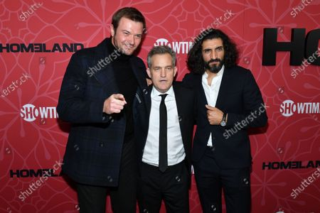 Costa Ronin, Maury Sterling and Numan Acar