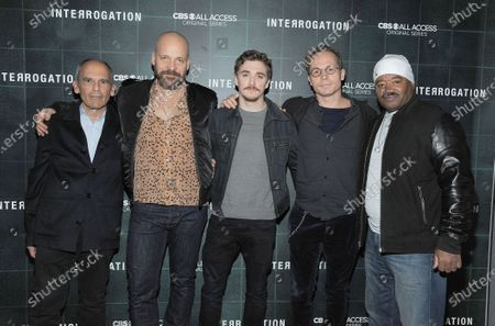 John Mankiewicz, Peter Sarsgaard, Kyle Gallner, Anders Weidemann and Jerry Miller