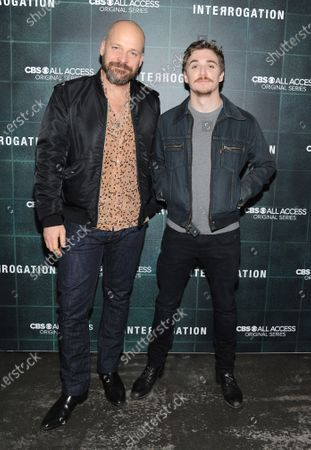 Peter Sarsgaard and Kyle Gallner