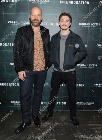 Stock Image of Peter Sarsgaard and Kyle Gallner