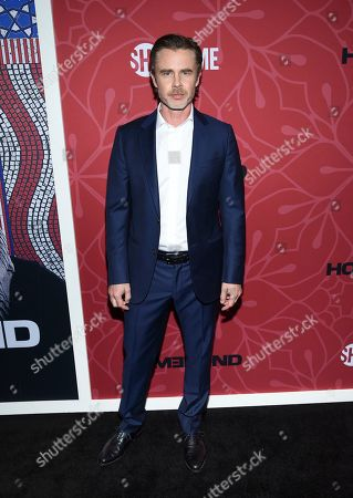 """Sam Trammell attends Showtime's """"Homeland"""" eighth and final season premiere at the Museum of Modern Art, in New York"""