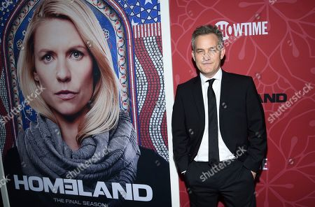 """Stock Image of Maury Sterling attends Showtime's """"Homeland"""" eighth and final season premiere at the Museum of Modern Art, in New York"""