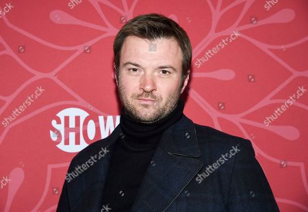 """Costa Ronin attends Showtime's """"Homeland"""" eighth and final season premiere at the Museum of Modern Art, in New York"""