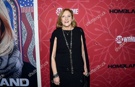 """Lesli Linka Glatter attends Showtime's """"Homeland"""" eighth and final season premiere at the Museum of Modern Art, in New York"""