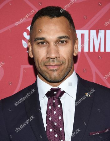 """Jason Tottenham attends Showtime's """"Homeland"""" eighth and final season premiere at the Museum of Modern Art, in New York"""