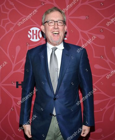 """Stock Photo of Co-creator and exceutive producer Alex Gansa attends Showtime's """"Homeland"""" eighth and final season premiere at the Museum of Modern Art, in New York"""