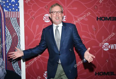 """Co-creator and exceutive producer Alex Gansa attends Showtime's """"Homeland"""" eighth and final season premiere at the Museum of Modern Art, in New York"""