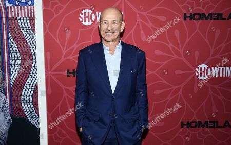 """Stock Image of Co-creator and executive producer Howard Gordon attends Showtime's """"Homeland"""" eighth and final season premiere at the Museum of Modern Art, in New York"""