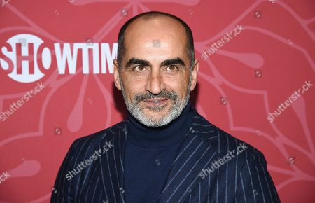 """Stock Photo of Navid Negahban attends Showtime's """"Homeland"""" eighth and final season premiere at the Museum of Modern Art, in New York"""
