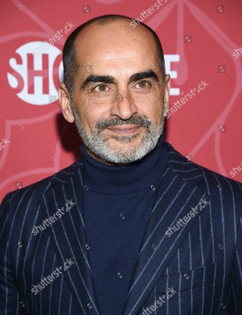 """Navid Negahban attends Showtime's """"Homeland"""" eighth and final season premiere at the Museum of Modern Art, in New York"""