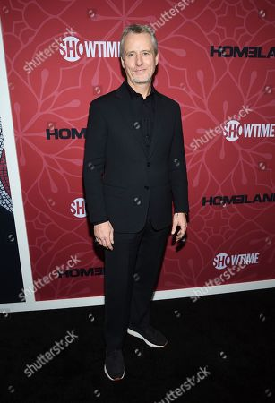 """Linus Roache attends Showtime's """"Homeland"""" eighth and final season premiere at the Museum of Modern Art, in New York"""