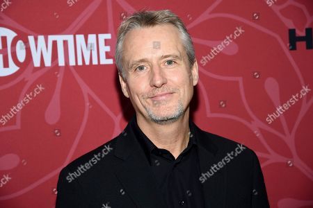 """Stock Image of Linus Roache attends Showtime's """"Homeland"""" eighth and final season premiere at the Museum of Modern Art, in New York"""