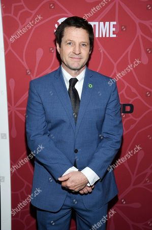 """Stock Image of Tim Guinee attends Showtime's """"Homeland"""" eighth and final season premiere at the Museum of Modern Art, in New York"""