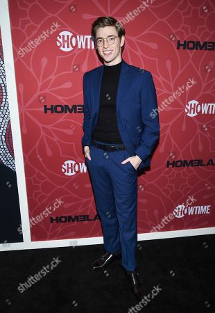 """Jackson Pace attends Showtime's """"Homeland"""" eighth and final season premiere at the Museum of Modern Art, in New York"""
