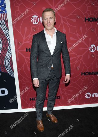 "Stock Image of Diego Klattenhoff attends Showtime's ""Homeland"" eighth and final season premiere at the Museum of Modern Art, in New York"