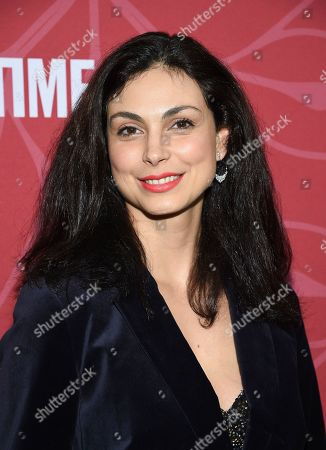 """Morena Baccarin attends Showtime's """"Homeland"""" eighth and final season premiere at the Museum of Modern Art, in New York"""