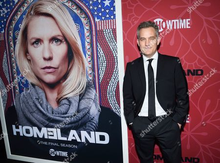 """Maury Sterling attends Showtime's """"Homeland"""" eighth and final season premiere at the Museum of Modern Art, in New York"""