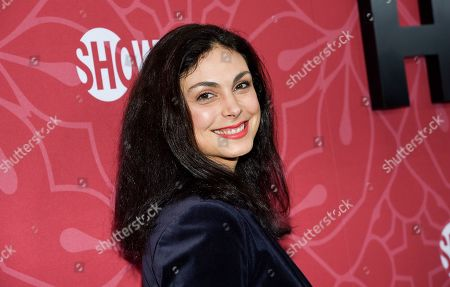 """Stock Picture of Morena Baccarin attends Showtime's """"Homeland"""" eighth and final season premiere at the Museum of Modern Art, in New York"""