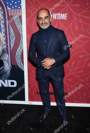 """Stock Image of Navid Negahban attends Showtime's """"Homeland"""" eighth and final season premiere at the Museum of Modern Art, in New York"""