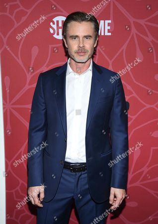 """Stock Image of Sam Trammell attends Showtime's """"Homeland"""" eighth and final season premiere at the Museum of Modern Art, in New York"""