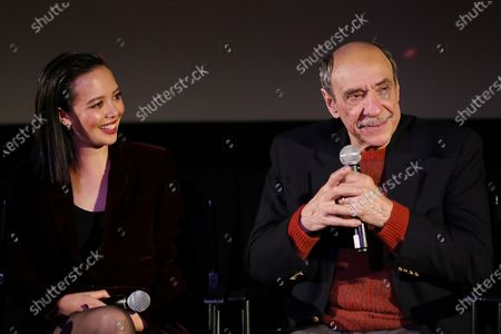 Stock Image of Charlotte Nicdao, F. Murray Abraham