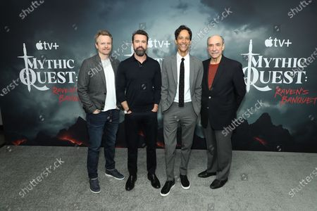 David Hornsby, Rob McElhenney, Danny Pudi, F. Murray Abraham