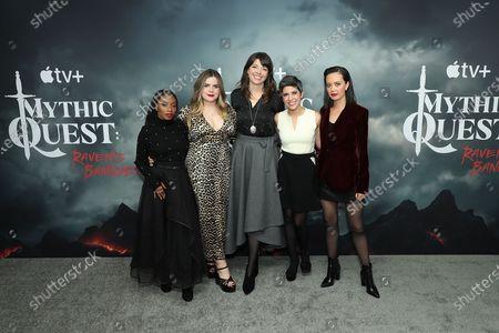 Imani Hakim, Jessie Ennis, Ashly Burch, Charlotte Nicdao