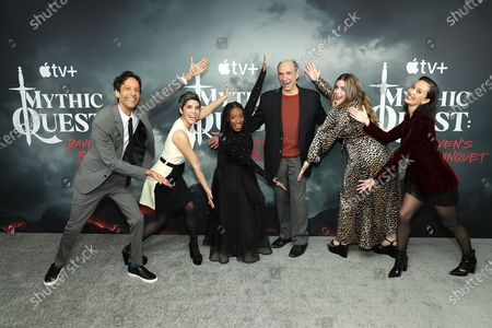Danny Pudi, Ashley Burch, Imani Hakim, F. Murray Abraham, Jessie Ennis, Charlotte Nicdao