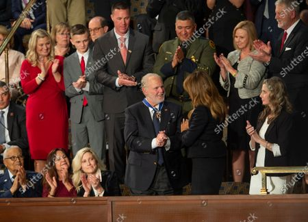 Rush Limbaugh, receives the Presidential Medal of Freedom