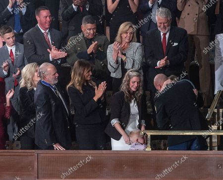 Editorial picture of State of the Union address, Washington DC, USA - 04 Feb 2020