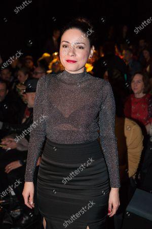 Editorial photo of Angel Schelesser show, Front Row, Autumn Winter 2020, Mercedes-Benz Fashion Week, Madrid, Spain - 31 Jan 2020