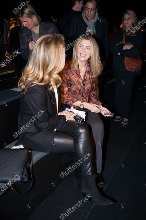 Editorial photo of Roberto Torretta show, Front Row, Autumn Winter 2020, Mercedes-Benz Fashion Week, Madrid, Spain - 30 Jan 2020