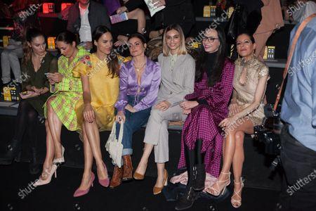Editorial photo of Jesus Lorenzo show, Front Row, Autumn Winter 2020, Mercedes-Benz Fashion Week, Madrid, Spain - 30 Jan 2020