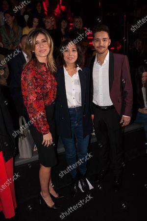 Begona Gomez, Isabel Gemio and guest