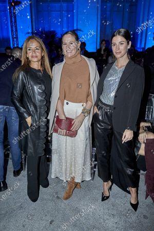 Beatriz Trapote, Fiona Ferrer and Sandra Gago