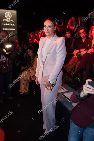 Editorial picture of Roberto Diz show, Front Row, Autumn Winter 2020, Mercedes-Benz Fashion Week, Madrid, Spain - 29 Jan 2020