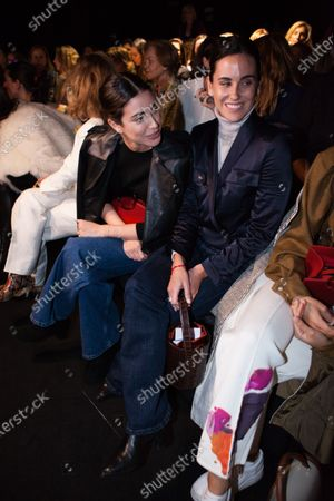 Editorial picture of Miguel Marinero show, Front Row, Autumn Winter 2020, Mercedes-Benz Fashion Week, Madrid, Spain - 29 Jan 2020