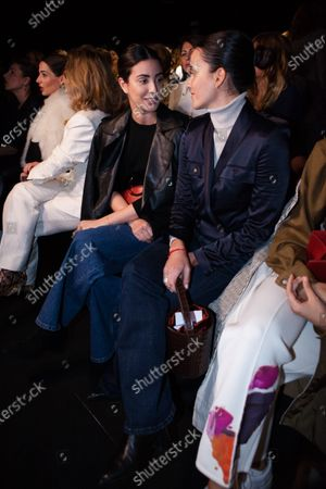 Editorial photo of Miguel Marinero show, Front Row, Autumn Winter 2020, Mercedes-Benz Fashion Week, Madrid, Spain - 29 Jan 2020