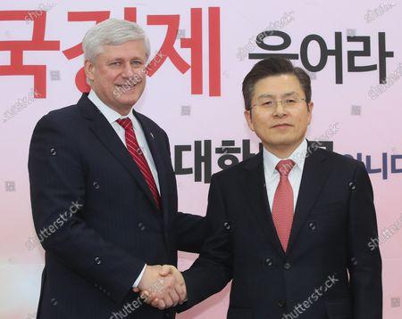 Editorial photo of IDU chairman visits South Korea, Seoul - 05 Feb 2020