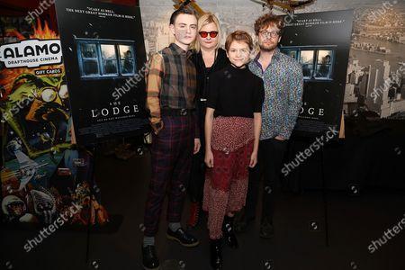 Jaeden Lieberher, Veronika Franz (Co-Director), Lia McHugh and Severin Fiala (Co-Director)