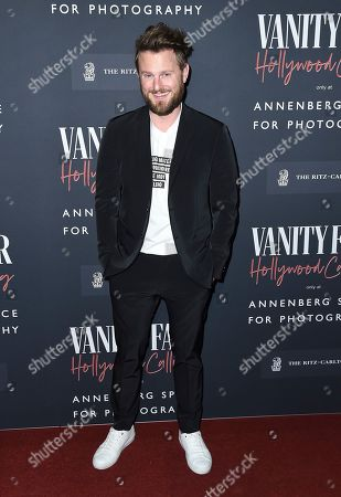 Bobby Berk arrives at the Annenberg Space for Photography's Vanity Fair: Hollywood Calling Exhibit Opening on in Los Angeles