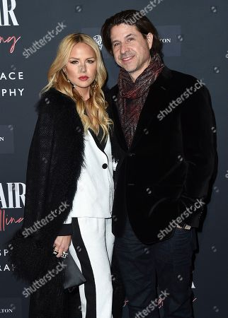 Stock Photo of Rachel Zoe, Rodger Berman. Rachel Zoe and Rodger Berman arrive at the Annenberg Space for Photography's Vanity Fair: Hollywood Calling Exhibit Opening on in Los Angeles